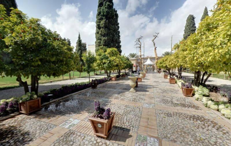 تصویر باغ جهان نما شیراز - 6