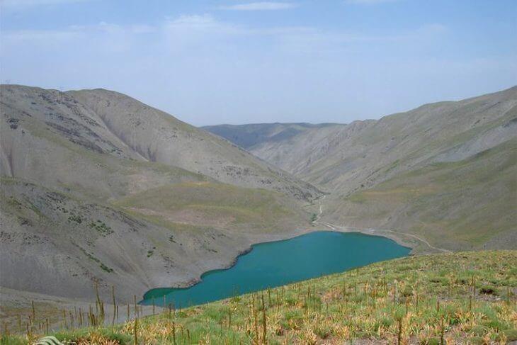 دریاچه چشمه سبز - جاهای دیدنی مشهد