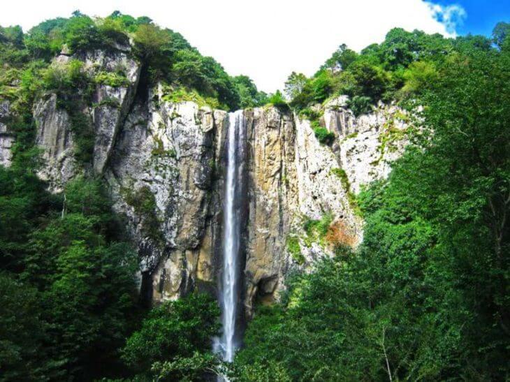 آبشار لاتون در کوته کومه