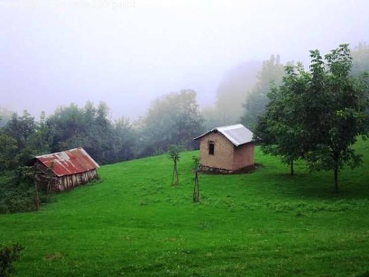 روستای رکوته کومه و آبگرم