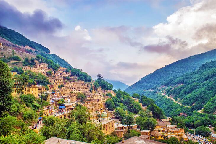 روستای پلکانی ماسوله گیلان