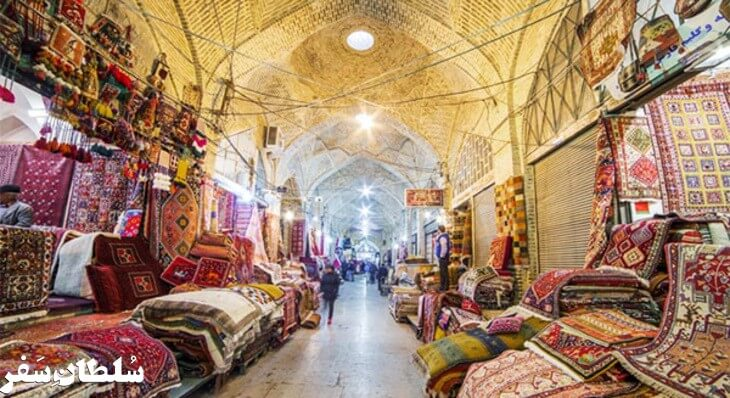 بازار وکیل - جاهای دینی شیراز