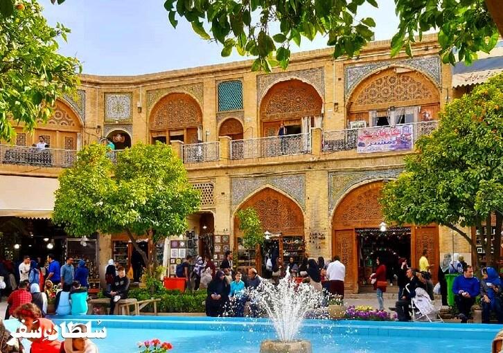 سرای مشیر - جاهای دیدنی شیراز