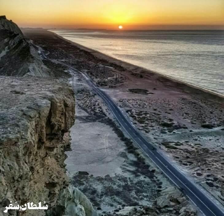 جاده ساحلی بریس چابهار