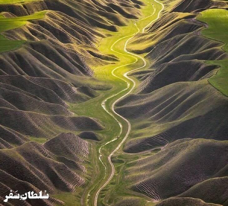 جاده کلاله به خالد نبی