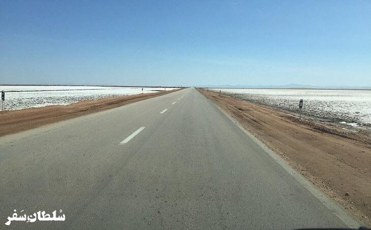 جاده طبس-خور بیابانک