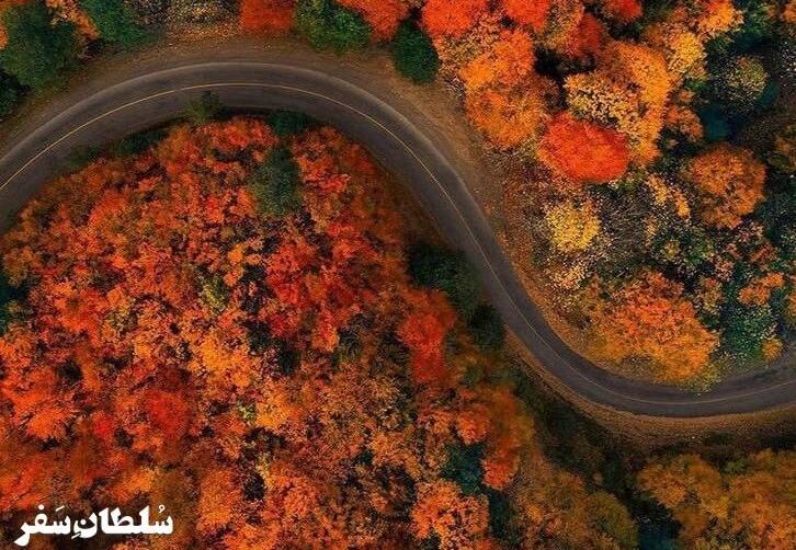 زیباترین جاده های ایران برای سفر جاده ای